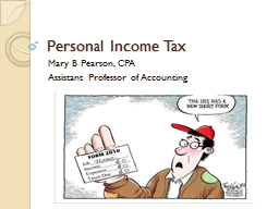 Personal Income Tax PowerPoint PPT Presentation