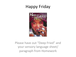 Happy Friday PowerPoint PPT Presentation