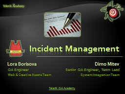 Incident Management PowerPoint PPT Presentation
