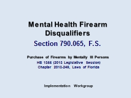 HB 1355 (2013 Legislative Session)