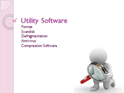 Utility Software