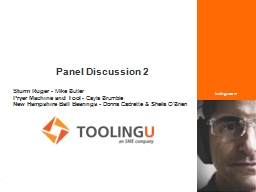 .) Panel Discussion 2