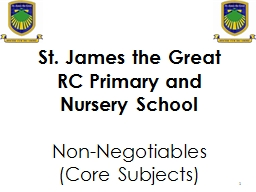 1 St. James the Great PowerPoint PPT Presentation