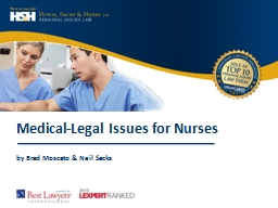 1 Medical-Legal Issues for Nurses