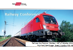 Railway Conference