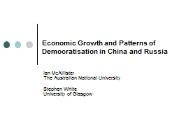 Economic Growth and Patterns of