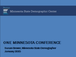 One Minnesota Conference