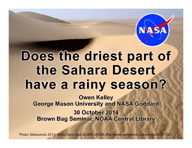 Does the driest part of PowerPoint PPT Presentation