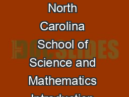 The Normal Distribution A derivation from basic principles Dan Teague The North Carolina School of Science and Mathematics Introduction Students in elementary calculus statistics and finite mathemati