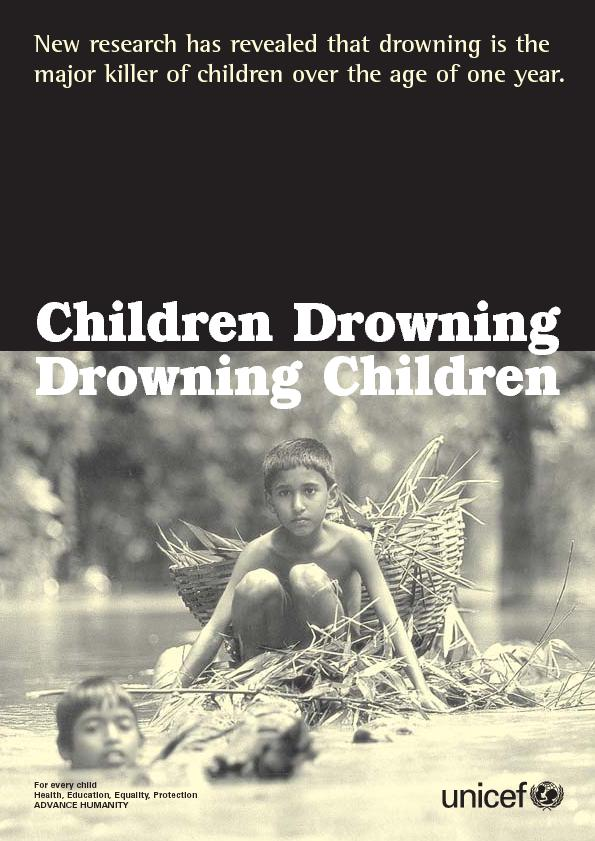 New research has revealed that drowning is themajor killer of children