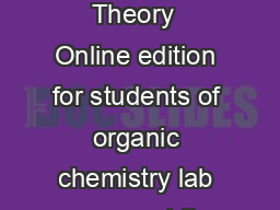 he Electromagnetic Spectrum Infrared Spectroscopy Theory  Online edition for students of organic chemistry lab courses at the University of Colorado Boulder Dept of Chem and Biochem