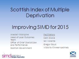 Scottish Index of Multiple Deprivation