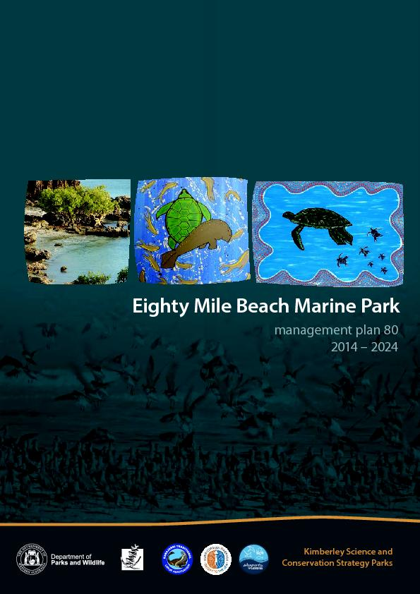 Eighty Mile Beach Marine Park Management Plan 2014–2024