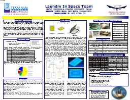Laundry In Space Team
