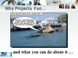 Why Projects Fail