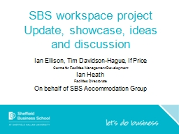 SBS workspace project