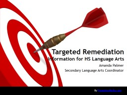 Targeted Remediation