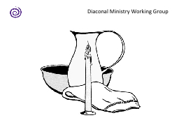 Diaconal Ministry Working Group