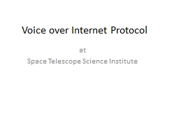 Voice over Internet Protocol