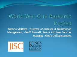 world war i research paper Essays - largest database of quality sample essays and research papers on world war 2 research paper.