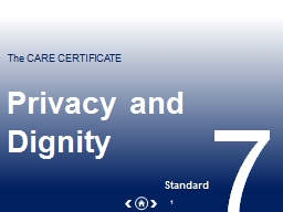 Privacy and Dignity