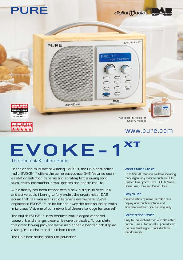 Based on the multi-award-winning EVOKE-1, the UK