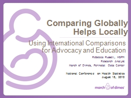 Comparing Globally Helps Locally
