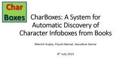 CharBoxes