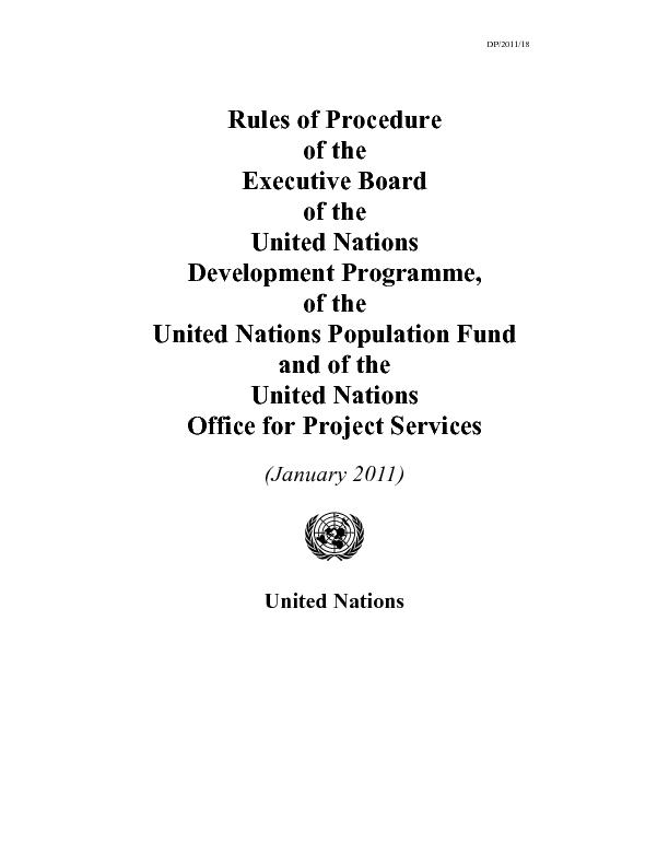 UNITED NATIONS PUBLICATION
