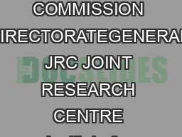 External Power Supplies Code of Conduct  Version   October  EUROPEAN COMMISSION DIRECTORATEGENERAL JRC JOINT RESEARCH CENTRE Institute for Energy and Transport Renewable Energy Unit Ispra  October  C