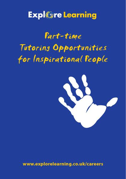 Part-time Tutoring Opportunities for Inspirational People