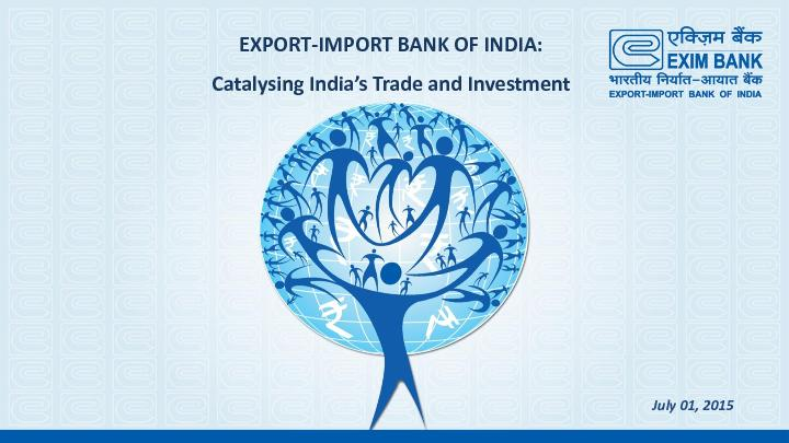 IMPORT BANK OF INDIA: