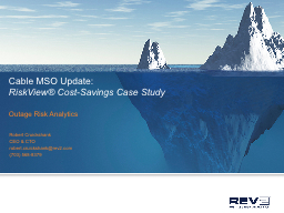 Cable MSO Update: