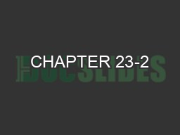 CHAPTER 23-2