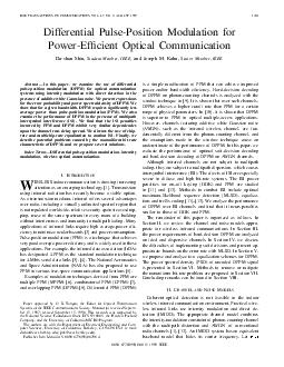 IEEE TRANSACTIONS ON COMMUNICATIONS VOL