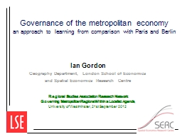 Governance PowerPoint PPT Presentation