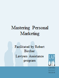 Mastering Personal Marketing