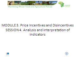 MODULE 3. Price Incentives and Disincentives PowerPoint PPT Presentation