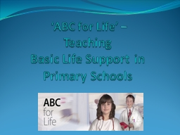 'ABC for Life'