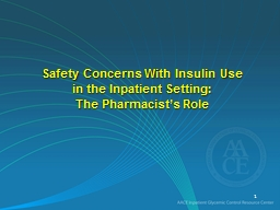 Safety Concerns With Insulin Use