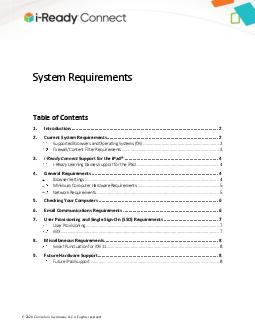 June  Ready System Requirements  PDF document - DocSlides