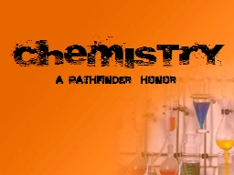 Chemistry PowerPoint PPT Presentation