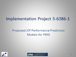 Implementation Project 5-6386-1 PowerPoint PPT Presentation
