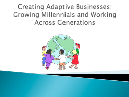 Creating Adaptive Businesses: Growing Millennials and Worki