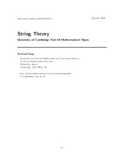 The Relativistic String All lecture courses on string theory start with a discussion of the point particle