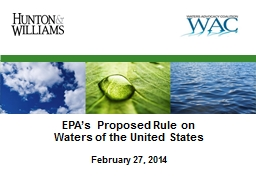 EPA's Proposed Rule on