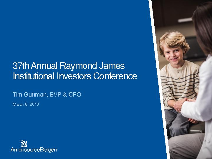 37th Annual Raymond James Institutional Investors Conference