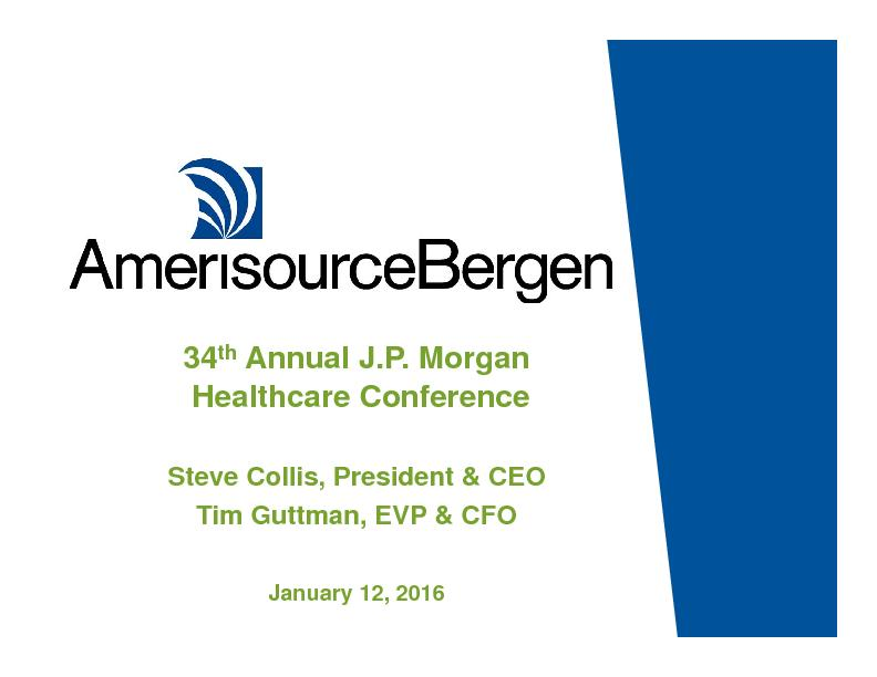 JP Morgan Healthcare Conference Presentation