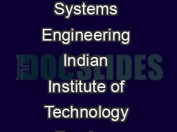 Draft Report On Development of Model Curriculum in Renewable Energy Energy Systems Engineering Indian Institute of Technology Bombay Powai Mumbai    August   Draft Renewable Energy Curriculum Introdu