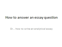 how to answer essay question unimelb
